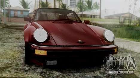Porsche 911 Turbo (930) 1985 Kit C para GTA San Andreas vista direita