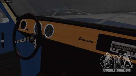 Dacia 1100 para GTA San Andreas vista direita