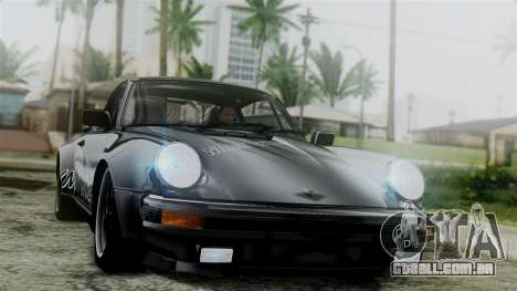 Porsche 911 Turbo (930) 1985 Kit C para GTA San Andreas vista superior