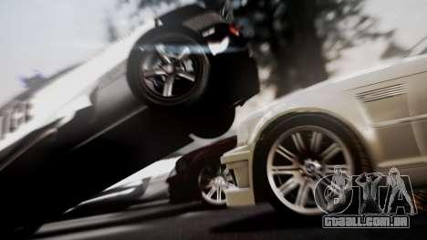 BMW M3 GTR Street Edition para GTA San Andreas vista direita