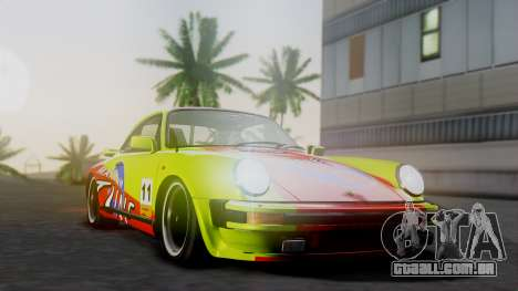 Porsche 911 Turbo (930) 1985 Kit A para GTA San Andreas vista traseira