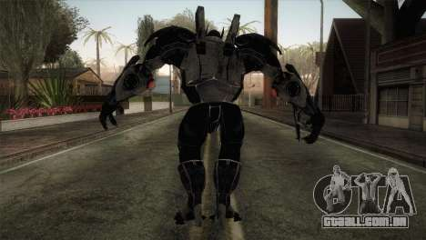 Batman Suit para GTA San Andreas terceira tela