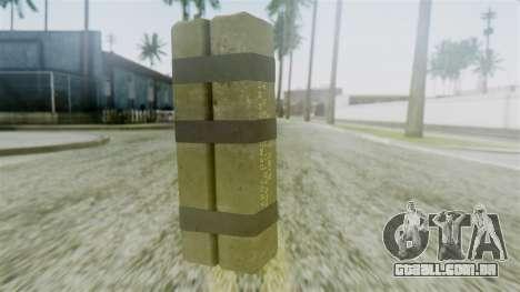 GTA 5 Sticky Bomb para GTA San Andreas segunda tela