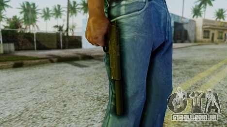 Silenced M1911 Pistol para GTA San Andreas terceira tela