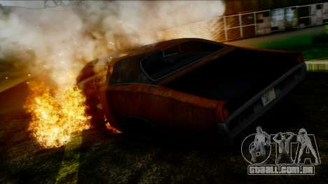 Dodge Charger Super Bee 426 Hemi (WS23) 1971 IVF para GTA San Andreas vista inferior