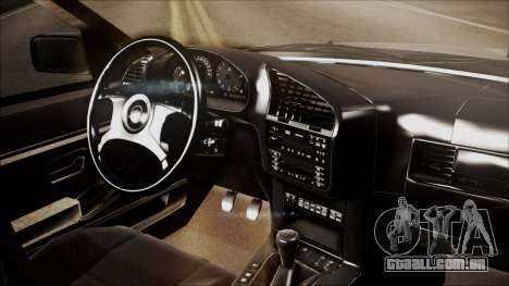 BMW M5 E36 para GTA San Andreas vista direita