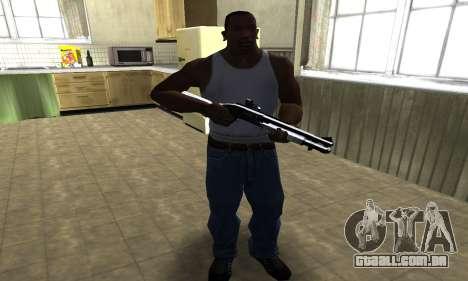 Black Shotgun para GTA San Andreas terceira tela