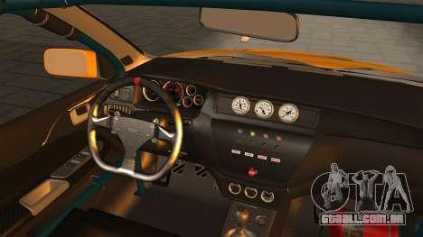 Mitsubishi Lancer Evolution 2015 para GTA San Andreas vista direita