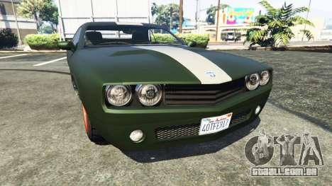 Bravado Gauntlet Dodge Challenger para GTA 5