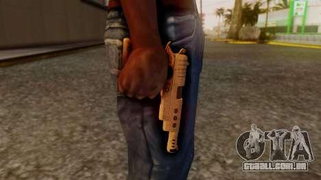 Chrome Hammer Pistol para GTA San Andreas terceira tela