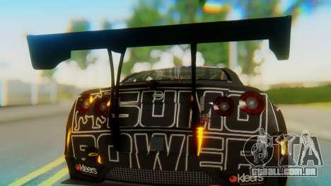 Nissan GT-R GT1 Sumo Tuning para GTA San Andreas vista traseira
