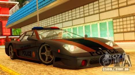 Police Turismo para GTA San Andreas