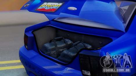 Ford Mustang 1999 Clean para as rodas de GTA San Andreas