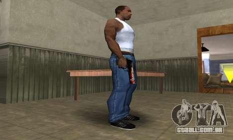 Totenkopf Deagle para GTA San Andreas segunda tela