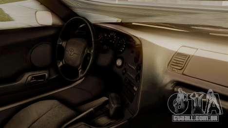 Toyota Supra Full Tuning para GTA San Andreas vista direita