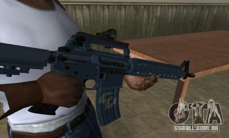 Counter Strike M4 para GTA San Andreas segunda tela