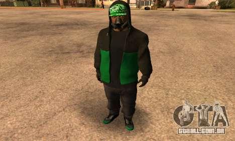 Fam Black para GTA San Andreas