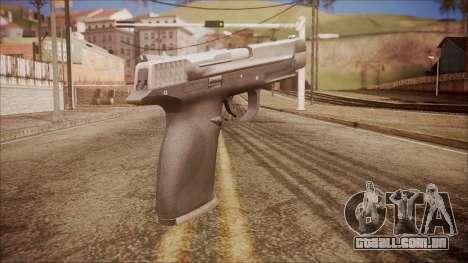 SW40p from Battlefield Hardline para GTA San Andreas segunda tela