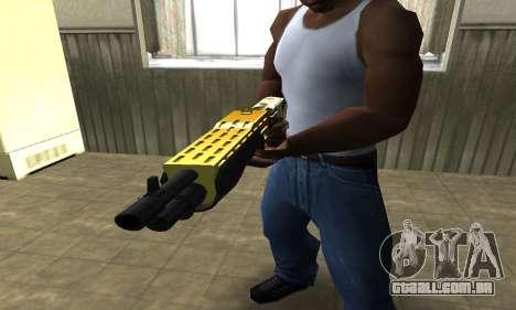 Wonder Combat Shotgun para GTA San Andreas segunda tela