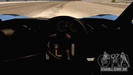 McLaren F1 LM 1995 para GTA San Andreas vista traseira