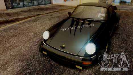 Porsche 911 Turbo (930) 1985 Kit A PJ para vista lateral GTA San Andreas