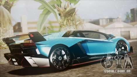 Lamborghini Veneno LP700-4 AVSM para GTA San Andreas esquerda vista
