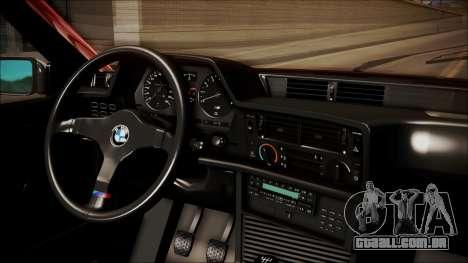BMW E24 Shakugan No Shana Itasha para GTA San Andreas vista direita