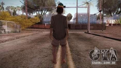 Rasta Grandpa para GTA San Andreas terceira tela