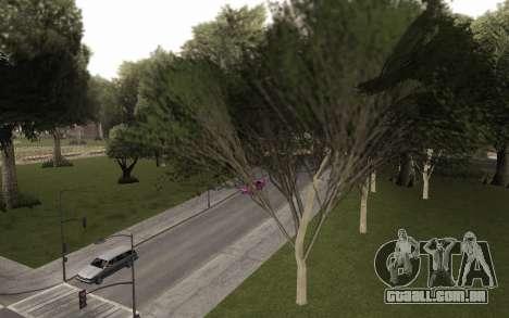 Uma cópia do original árvores para GTA San Andreas segunda tela