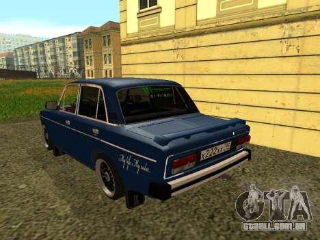 VAZ 21065 para GTA San Andreas vista direita