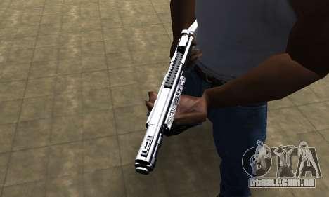 Black Shotgun para GTA San Andreas segunda tela