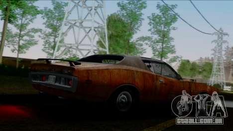 Dodge Charger Super Bee 426 Hemi (WS23) 1971 IVF para o motor de GTA San Andreas