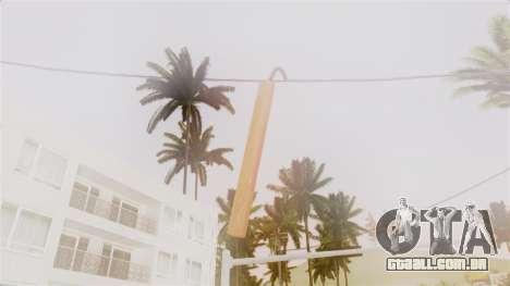 Red Dead Redemption TNT Diego Elegant para GTA San Andreas terceira tela