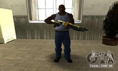 Wonder Combat Shotgun para GTA San Andreas terceira tela