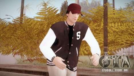 Jimmy Silverman para GTA San Andreas