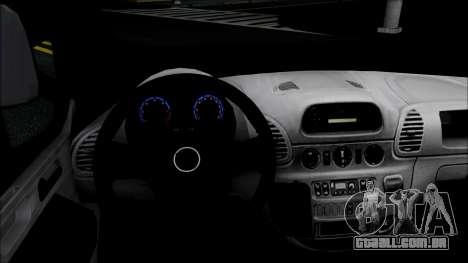 Opel Vivaro Policija para GTA San Andreas traseira esquerda vista