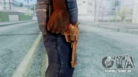 Red Dead Redemption Revolver Diego Nueva para GTA San Andreas terceira tela