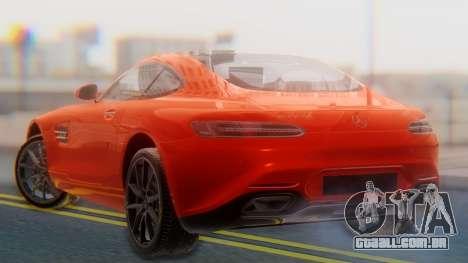 Mercedes-Benz SLS AMG GT para GTA San Andreas esquerda vista