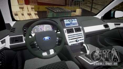 Ford Falcon FG XR6 Turbo para GTA 4 vista de volta