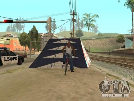 Trampolim para GTA San Andreas