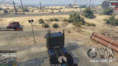 GTA 5 Trucking Missions 1.5 nono screenshot