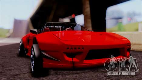 Honda NSX para GTA San Andreas vista traseira