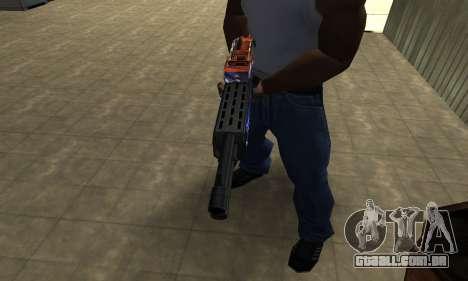Fish Power Combat Shotgun para GTA San Andreas segunda tela