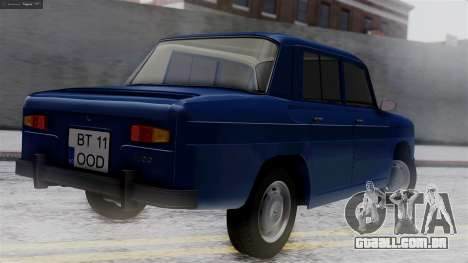 Dacia 1100 para GTA San Andreas esquerda vista