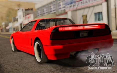Infernus Hamann Edition New Wheels para GTA San Andreas esquerda vista