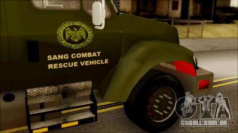 SANG Combat Rescue International para GTA San Andreas vista direita