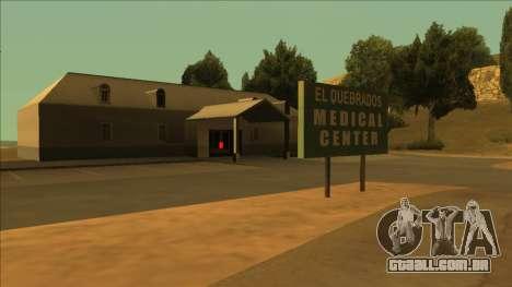 PS captadores perto de hospitais no estado para GTA San Andreas por diante tela