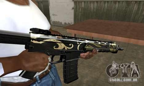 Kaymay M4 para GTA San Andreas segunda tela