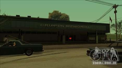 PS captadores perto de hospitais no estado para GTA San Andreas sétima tela