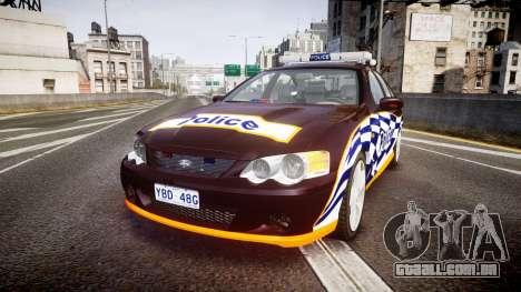 Ford Falcon BA XR8 Highway Patrol [ELS] para GTA 4
